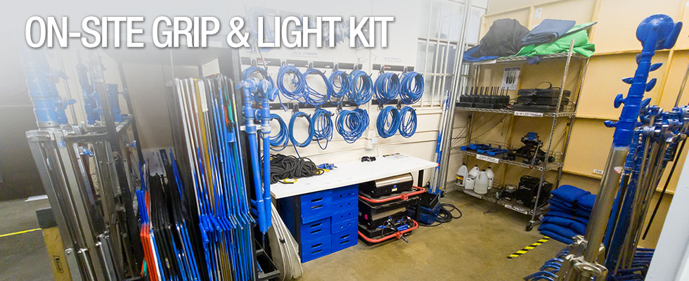 On-Site Grip & Lighting Gear